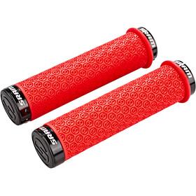 SRAM poignée silicone DH avec vis de blocage, red